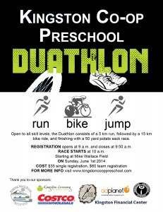 Duathlon flyer